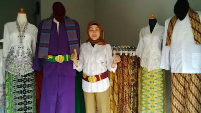 distro busana tradisional budaya baju pangsi Bekasi