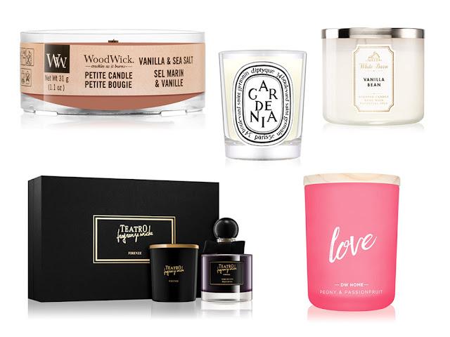 Какие бывают ароматические свечи