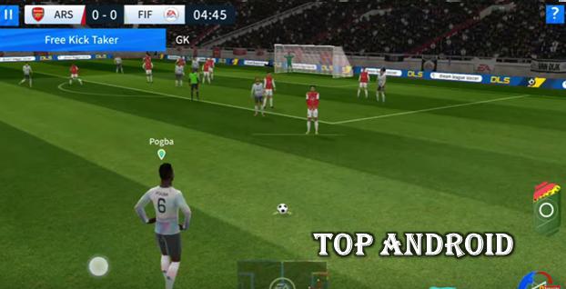 تحميل لعبة دريم ليج 2020 مود فيفا 20 || FIFA 20 Mod DLS 2020