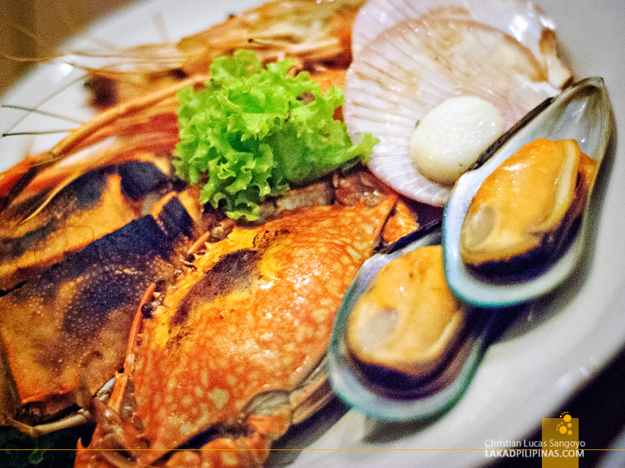 Baiyoke Tower II Dinner