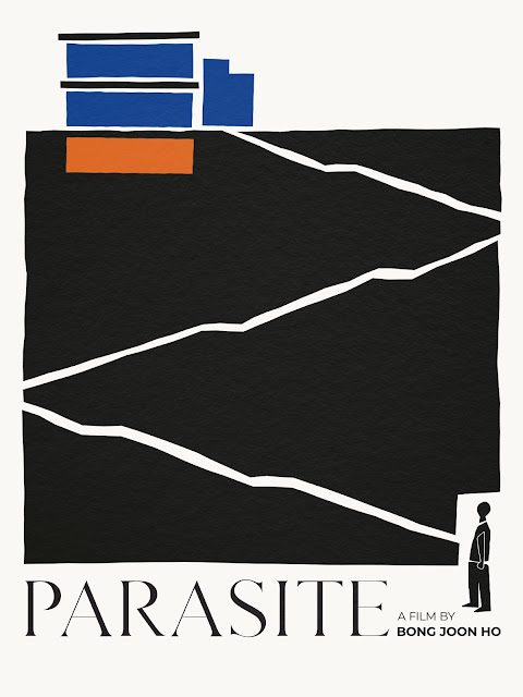 "Shutterstock Celebrates Oscar-Nominated Films With Reimagined Movie Posters - ""Parasite"" Poster by Nicole Dai"