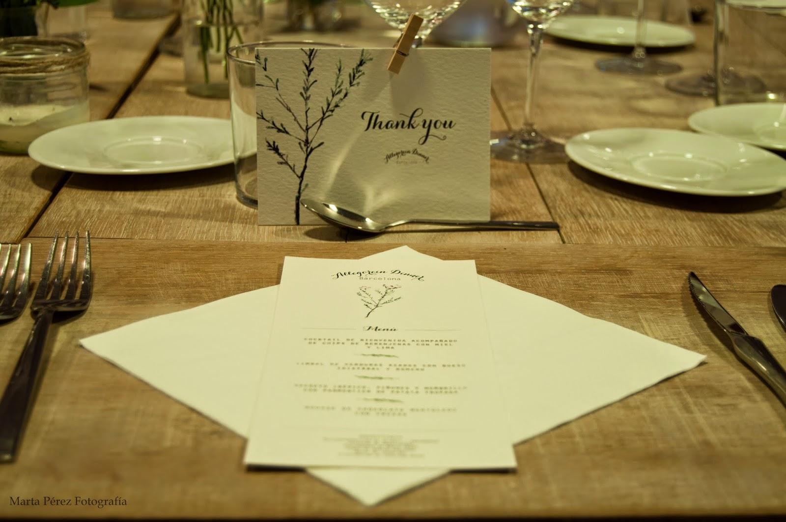 Allegorein Dinner Barcelona - Cristina Maser