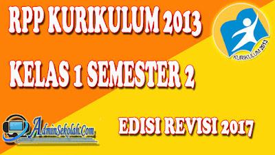 Download RPP K13 Kelas 1 SD Semester 2 Revisi Terbaru Lengkap