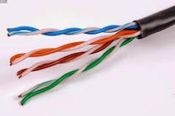 Cara Membuat Kabel LAN Type Straight dan Cross Over