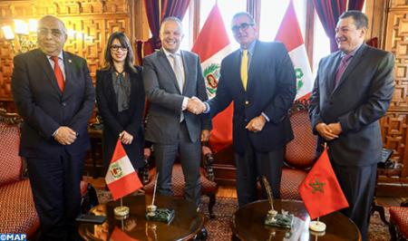 El fortalecimiento de la cooperación bilateral centra conversaciones marroquí-peruanas en Lima