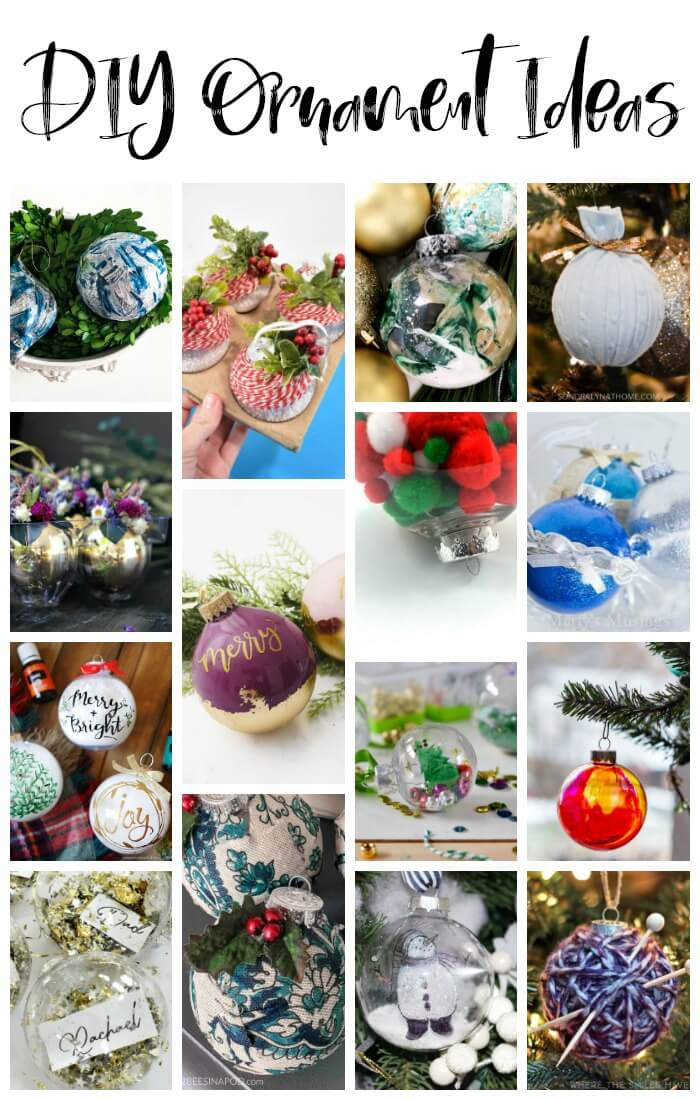 Twenty one amazing DIY Christmas ornament ideas