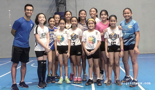 SJI Under 12 Girls' Volleyball Team - fitness coach - Phenom Elite Training Academy - Bacolod gym - Bacolod sports facility - Bacolod City - Bacolod blogger - scientific athletic training - scientific performance training - Coach Justin Aquino