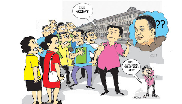 Digugat Konsumen Reklamasi Gubernur DKI 'Berkelit'