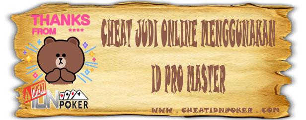 Cheat Judi Online Menggunakan ID Pro Master