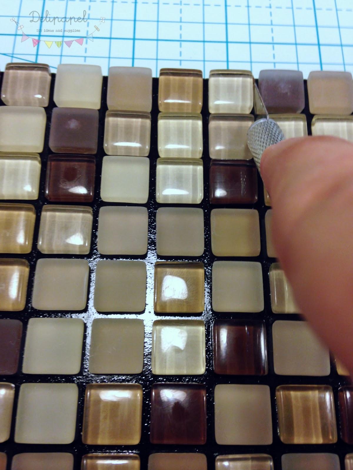 Delipapel Probamos el gresite adhesivo de Leroy Merlin