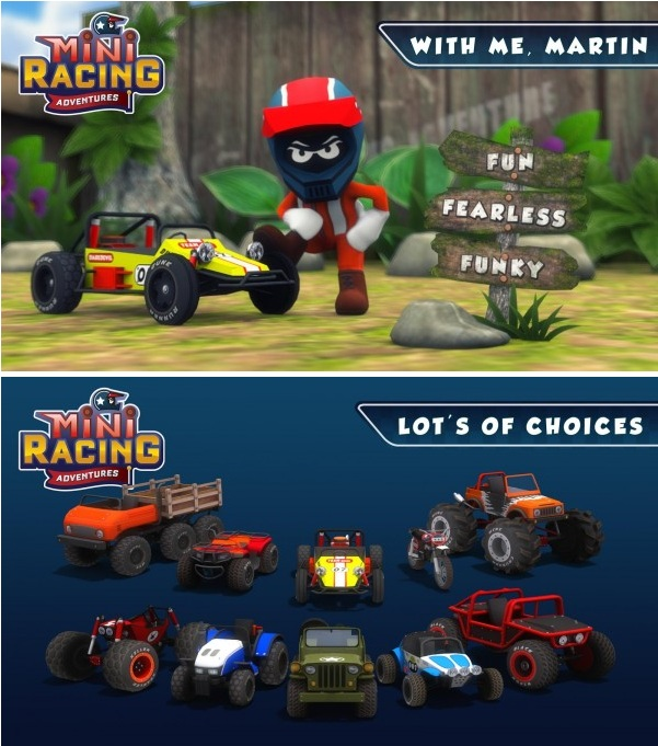 Mini Racing Adventures v1.11 Apk Mod (Unlimited Money)