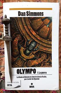 Portada del libro Olympo 1. La guerra, de Dan Simmons