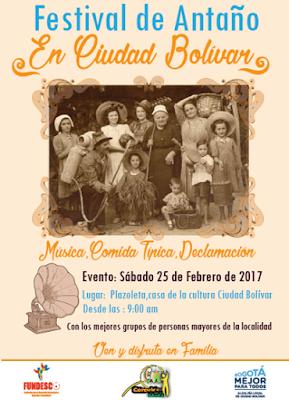 FESTIVAL DE ANTAÑO EN CIUDAD BOLÍVAR