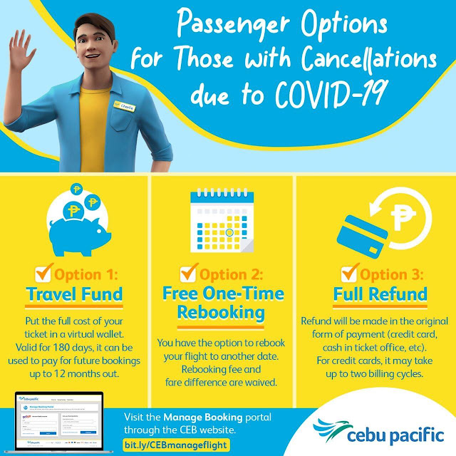 How to Get a REFUND for Canceled or Rescheduled Flights from Cebu Pacific Air