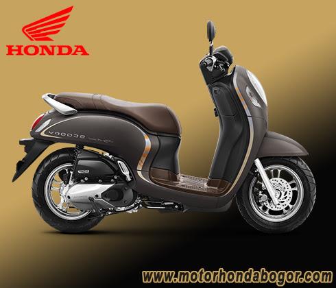 Brosur Motor Honda Scoopy Bogor