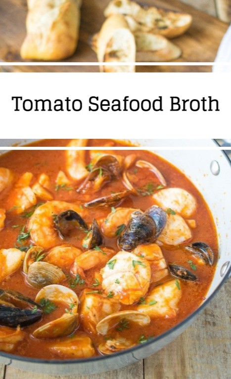 Tomato Seafood Broth