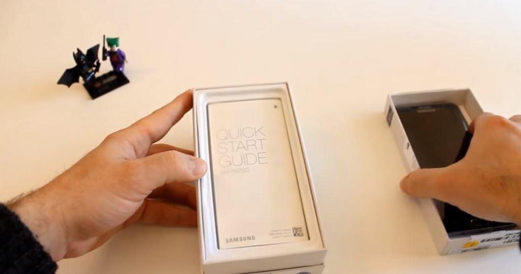 Contenuto confezione  Samsung Galaxy Note 7