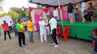 लेदर बॉल क्रिकेट प्रतियोगिता आयोजित