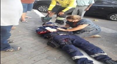 URGENTE   Mototaxista esfaqueia e fere dois guardas civis na Praça da Graça em Parnaíba