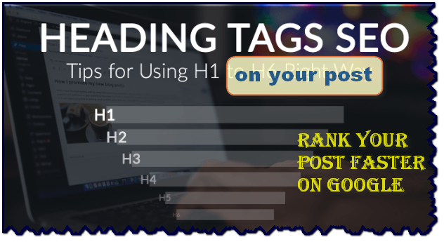 Change blogger post title H3 to H1,H1 heading tag