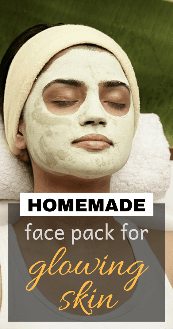 Homemade Face Pack For Glowing Skin