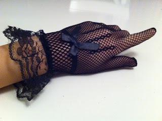 siyah file eldiven satın al