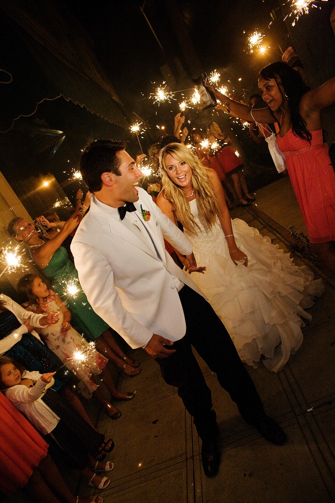 Wedding Sparklers By What Size Sparkler Is Best For Your