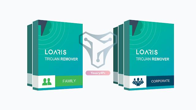 تحميل برنامج Loaris Trojan Remover كامل بالتفعيل لإزالة وحذف فيروس التروجان والحماية من التجسس - Yousry4PC