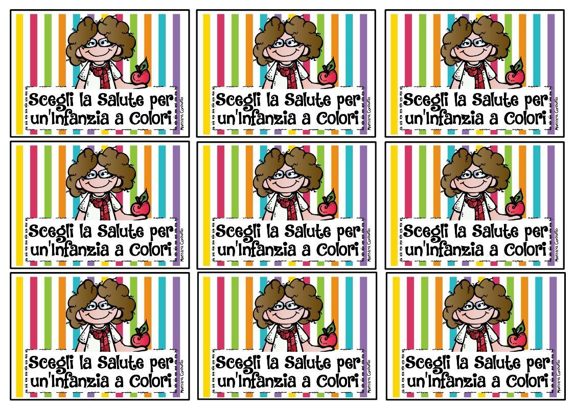 Maestra Consuelo Scegli La Salute Per Un Infanzia A Colori