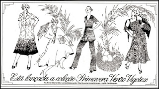propaganda coleção Vigotex - 1978; moda feminina anos 70; moda anos 70; propaganda anos 70; história da década de 70; reclames anos 70; brazil in the 70s; Oswaldo Hernandez