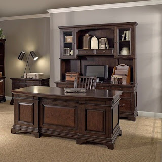 meja kantor jati murah