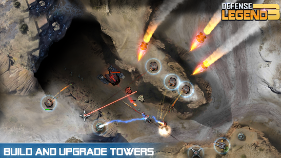 Download Defense Legend 3: Future War Mod Money