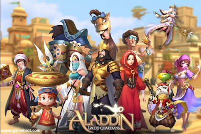 Aladdin Lamp Guardians MOD APK+DATA