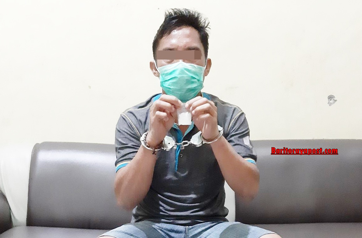 Pria Warga Kecamatan Tewah ini, Diduga Edarkan Sabu Diamankan Polisi