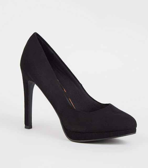 black court shoe