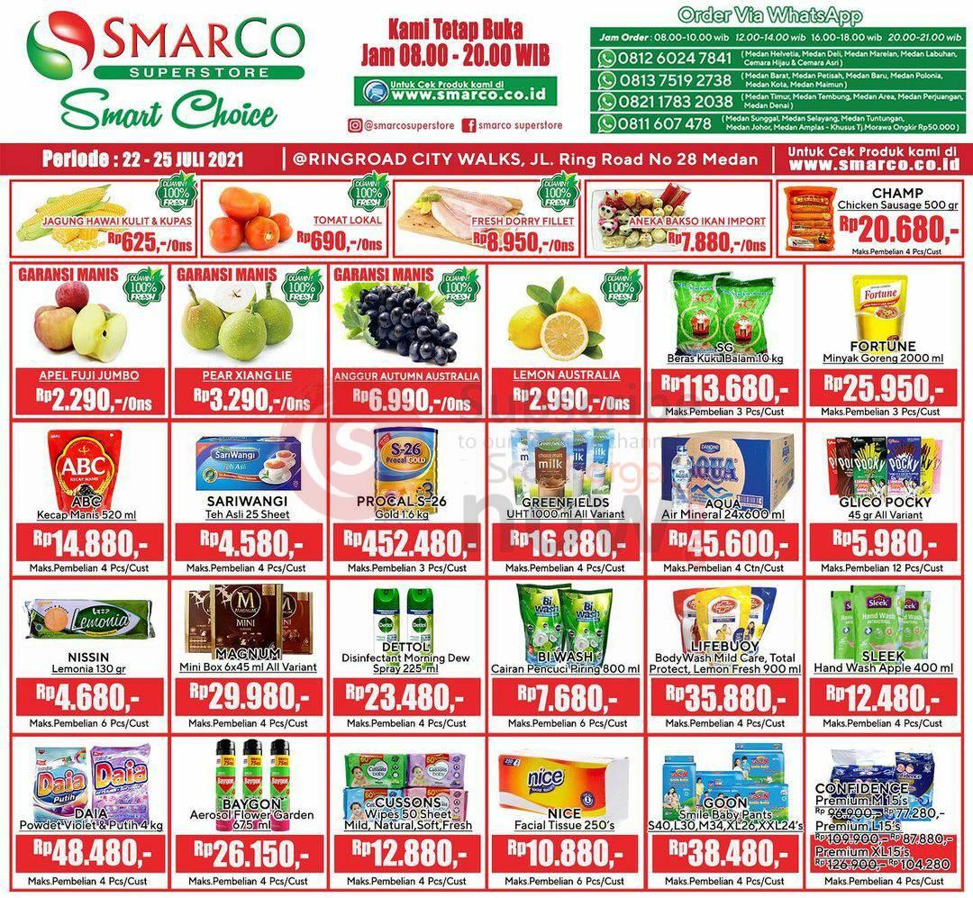 Katalog Promo SMARCO Superstore Periode 22 - 25 Juli 2021