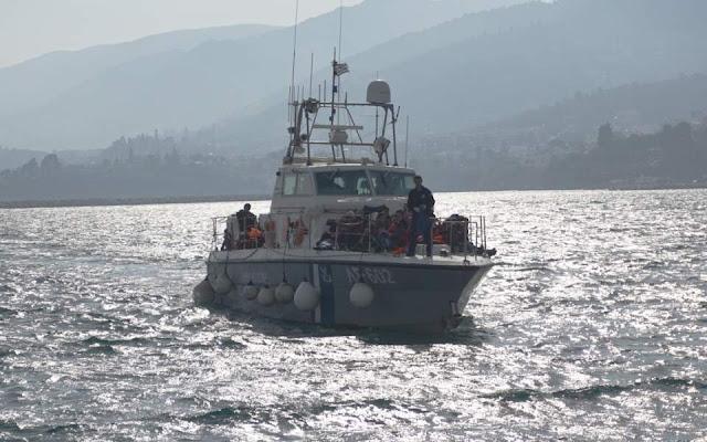 Λέσβος: Νέα απόπειρα προώθησης λαθρομεταναστών από τουρκικές ακταιωρούς