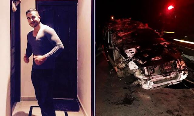 رادس: وفاة أمني وإصابة آخر في إنقلاب سيارة (صور)