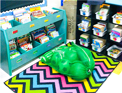 Classroom Library Set Up Leveled Books