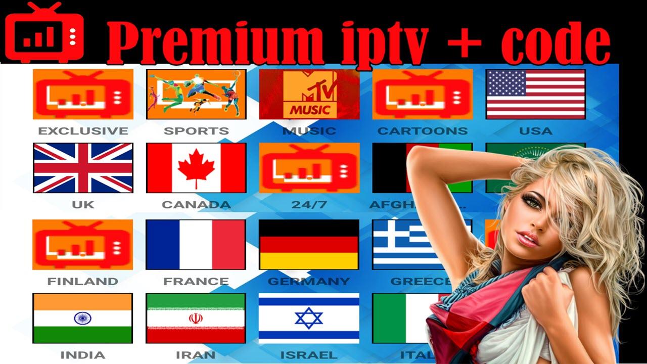 RED IPTV CODE AND APP - IPTV DROID