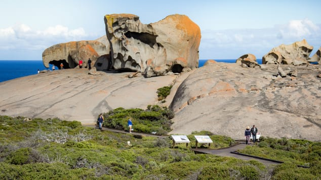 There's more to Kangaroo Island than hopping mammals -- including some amazing rock formations.