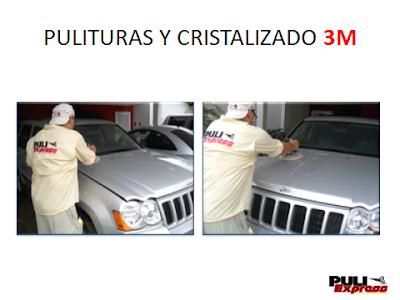 Pulitura 3M para camioneta Jeep Cherokee a domicilio en Caracas