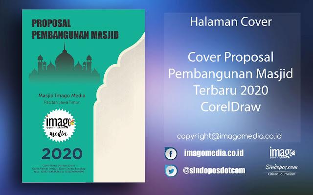 Cover Proposal Pembangunan Masjid Terbaru 2020 CorelDraw