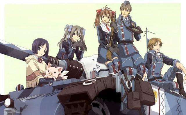 Valkyria Chronicles (Senjou no Valkyria) - Top Best War Anime List (From Medieval, Modern to Future War)