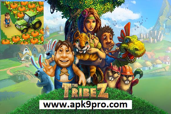 The Tribez: Build a Village v11.5.9 Apk + Mod (File size 103 MB) for andorid