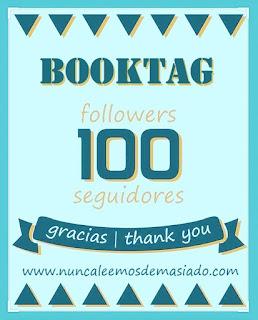 Booktag 100 seguidores
