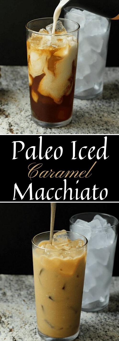 Skinny Iced Caramel Macchiato  #drink #caramel #iced #sangria #summer