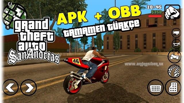 GTA San Andreas v2.00 MOD APK - Tamamen Türkçe Apk İndir