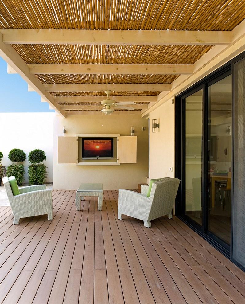 60 Ide Desain Plafon Bambu Modern Rumahku Unik