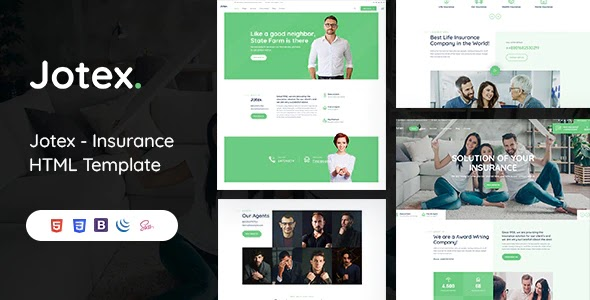 Insurance HTML Template